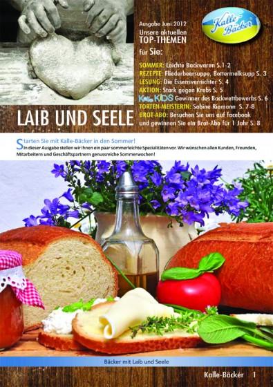Kalle-Bäcker Newsletter Titel Laib und Seele