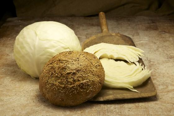 Kohlbrot - kalle-Bäcker, Marne, Kohlbrotbacken