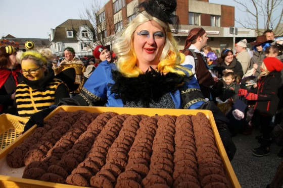 Karneval Marne 2012 Kalle-Bäcker