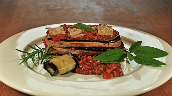 Rezepttipp Nr.7: Brot-Auberginen-Lasagne, Kalle-Bäcker