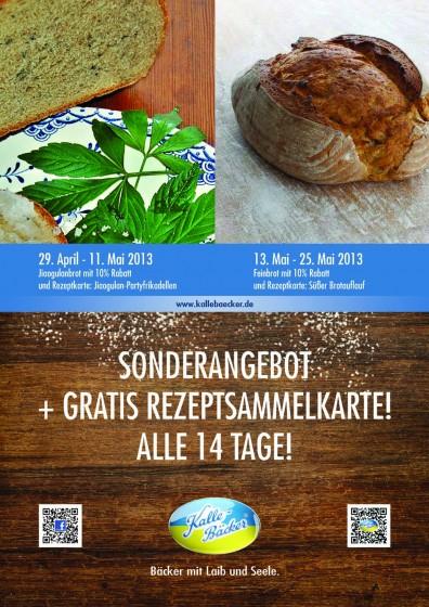 Plakat Mai Kalle-Bäcker