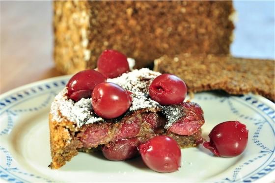 Rezepttipp Nr.8 schneller Bröselkuchen mit Sauerkirschen vom Kalle-Bäcker