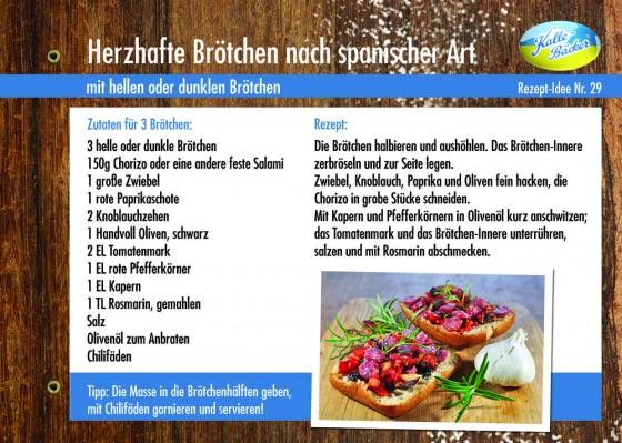 Herzhafte Brötchen, Kalle-Bäcker, Rezepttipp