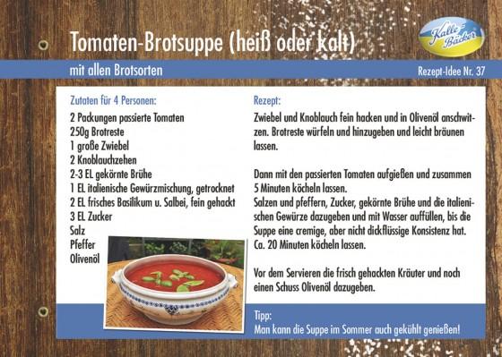 Tomaten-brotsuppe Kalle-Bäcker